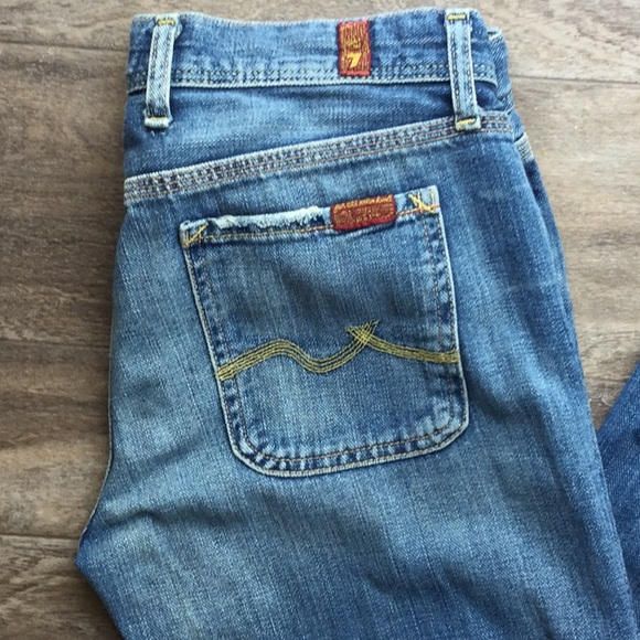 7 For All Mankind Denim - Seven Jeans - Winston Wide Leg Style